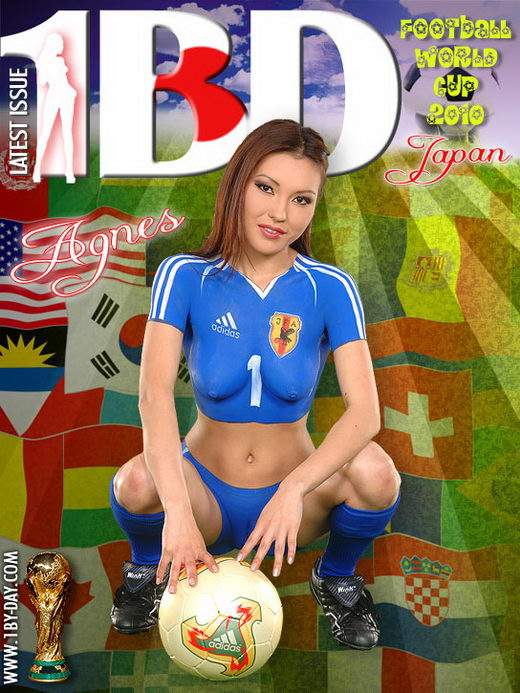 Agnes - `Football World Cup 2010 - Japan` - for 1BY-DAY