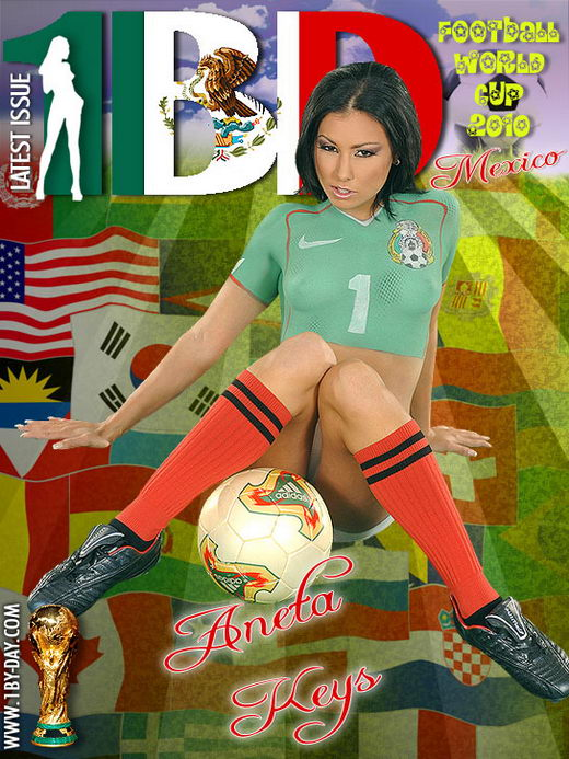 Aneta Keys - `Football World Cup 2010 - Mexico` - for 1BY-DAY