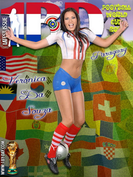 Veronica Da Souza - `Football World Cup 2010 - Paraquay` - for 1BY-DAY