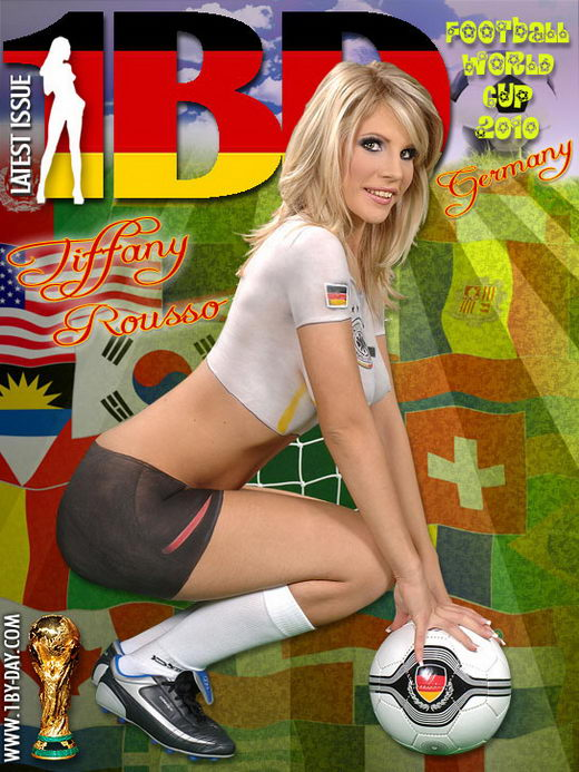 Tiffany Rousso - `Football World Cup - Germany` - for 1BY-DAY