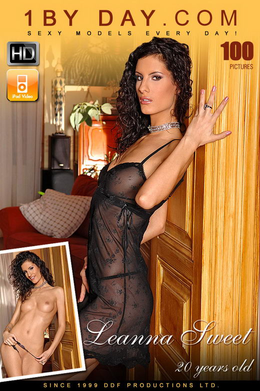 Leanna Sweet in Tall Curly Haired Leana Is Back And This gallery from 1BY-DAY