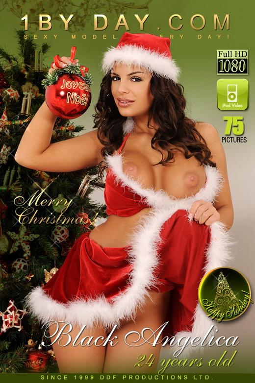 Black Angelica - `Getting Naughty For Santa!` - for 1BY-DAY