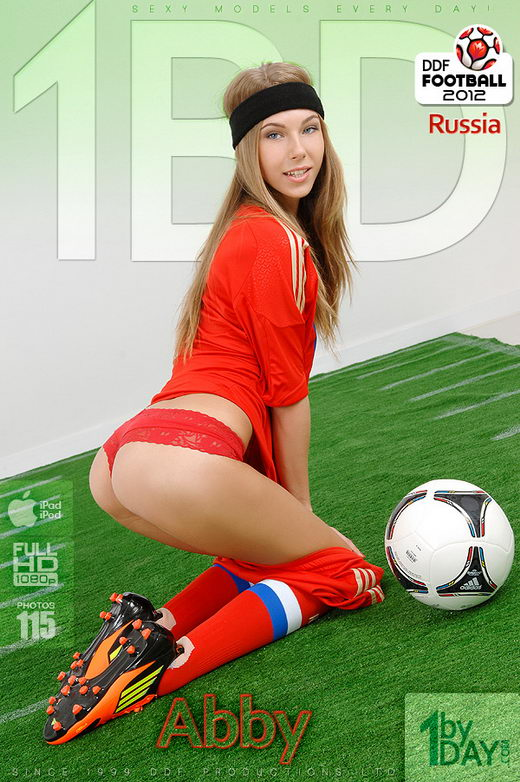 Abby - `Slide Into This Soccer Sweetie!` - for 1BY-DAY