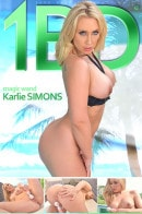 Karlie Simon - A MILF and her Magic Wand - Poolside Pussy Play
