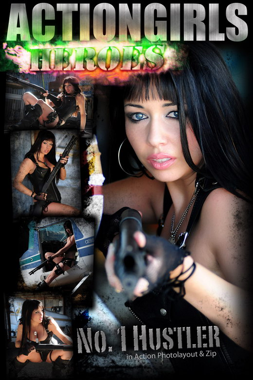 `No 1 Hustler In Action` - for ACTIONGIRLS HEROES