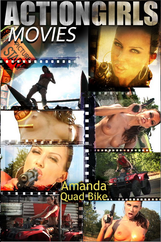 Amanda - `Quad Bike` - for ACTIONGIRLS HEROES