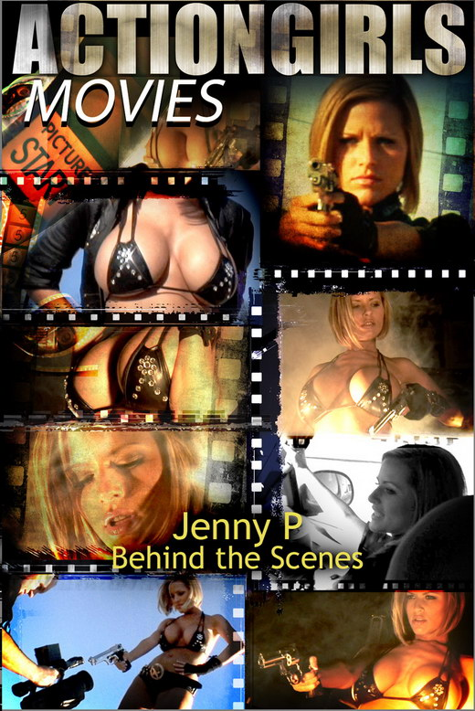 Jenny P - `Behind the Scenes` - for ACTIONGIRLS HEROES