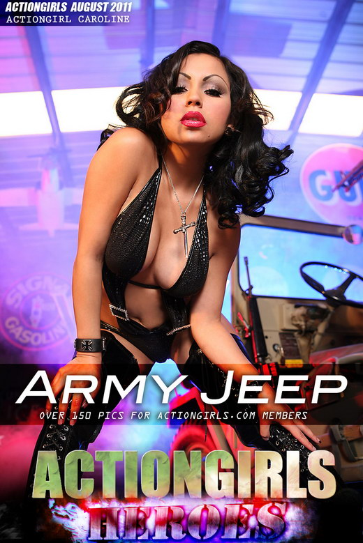 Caroline - `Army Jeep` - for ACTIONGIRLS HEROES