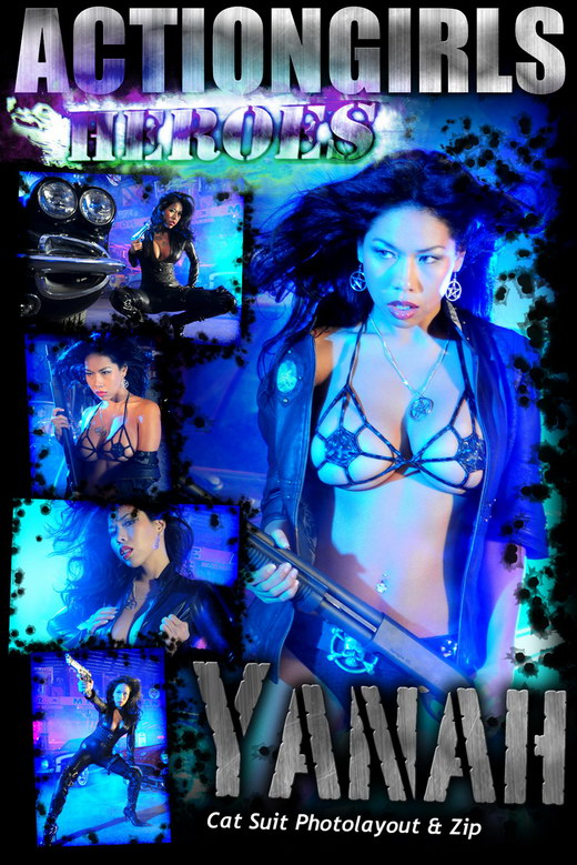 Yanah - `Cat Suit` - for ACTIONGIRLS HEROES