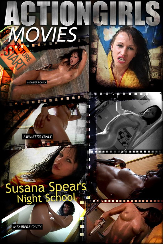 Susana Spears - `Night School` - for ACTIONGIRLS HEROES