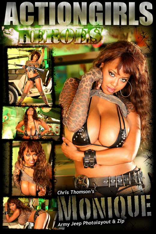 Monique - `Army Jeep` - for ACTIONGIRLS HEROES