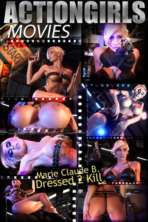 Marie Claude B - `Dressed 2 Kill Movie - Part 1` - for ACTIONGIRLS HEROES