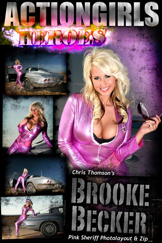 Brooke - `Pink Sheriff` - for ACTIONGIRLS HEROES