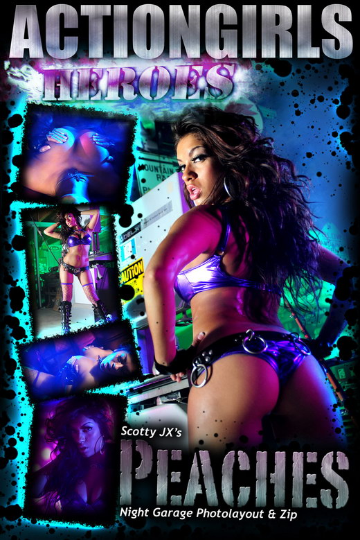 Peaches - `Night Garage` - for ACTIONGIRLS HEROES