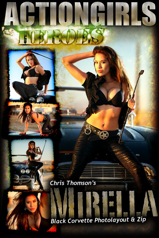 Mirella - `Black Corvette` - for ACTIONGIRLS HEROES