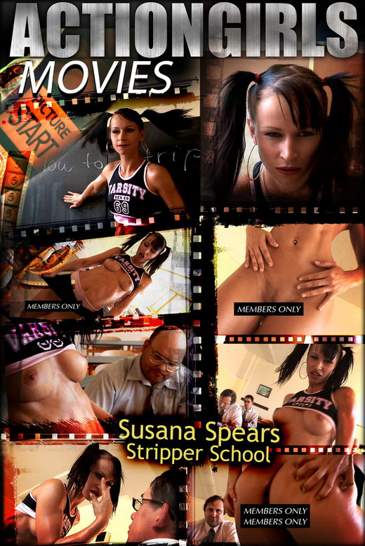 Susana Spears - `Stripper School` - for ACTIONGIRLS HEROES