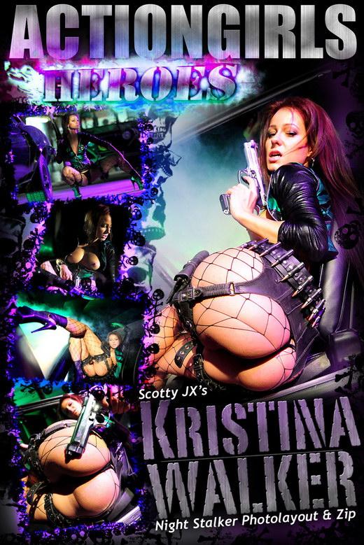 Kristina Walker - `Night Stalker` - for ACTIONGIRLS HEROES