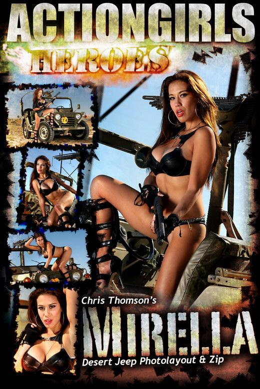 Mirella - `Desert Jeep` - for ACTIONGIRLS HEROES