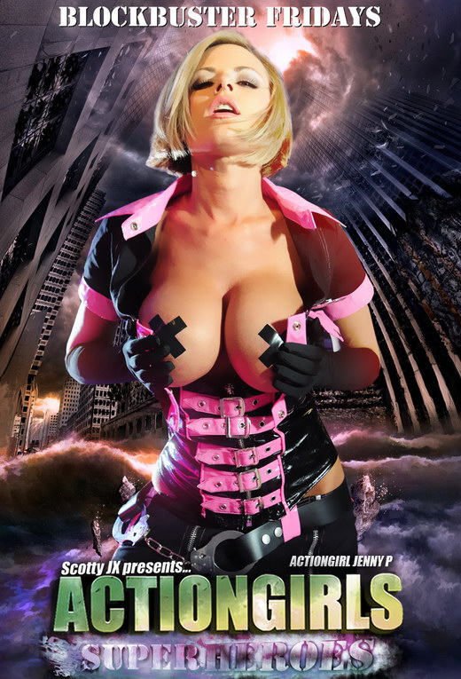 Jenny P - `Super Cop` - for ACTIONGIRLS HEROES