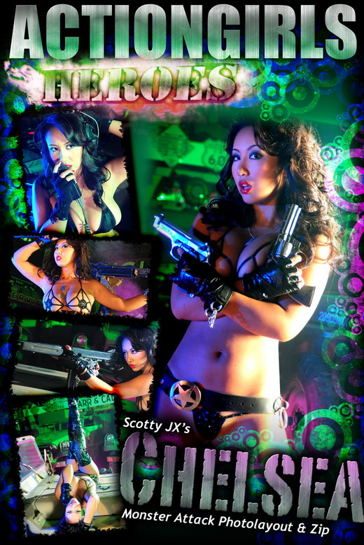 Chelsea - `Monster Attack` - for ACTIONGIRLS HEROES