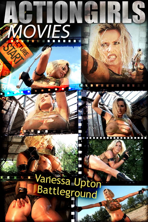 Vanessa Upton - `Upton Battlegorund` - for ACTIONGIRLS HEROES