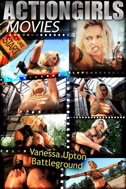 Vanessa Upton - `Upton Battlegorund` - for ACTIONGIRLS HEROES