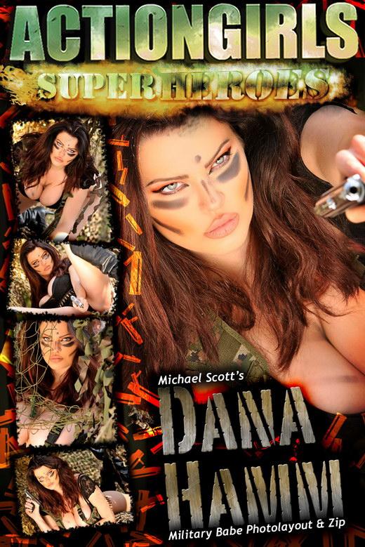 Dana Hamm - `Military Babe` - for ACTIONGIRLS HEROES
