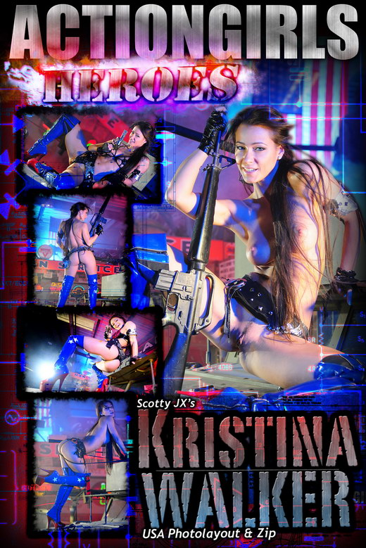 Kristina Walker - `USA` - for ACTIONGIRLS HEROES