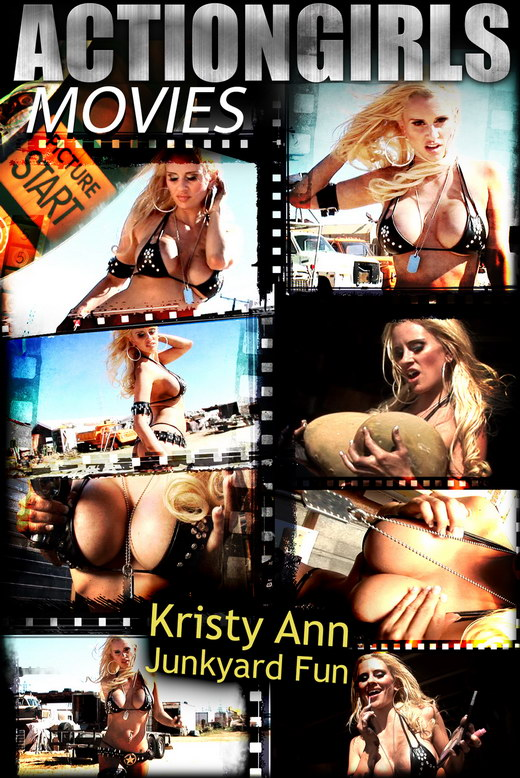 Kristy Ann - `Junkyard Fun` - for ACTIONGIRLS HEROES