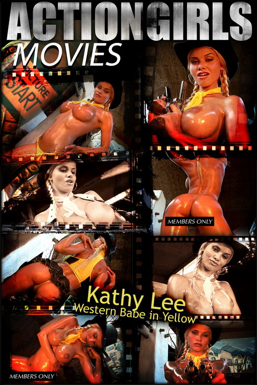 Kathy Lee - `Western Babe In Yellow` - for ACTIONGIRLS HEROES