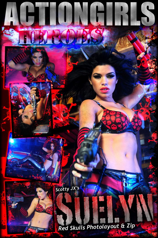 Suelyn - `Red Skulls` - for ACTIONGIRLS HEROES