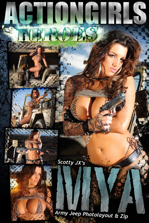 Mya - `Army Jeep` - for ACTIONGIRLS HEROES