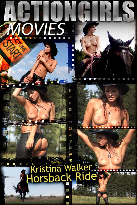 Kristina Walker - `Horseback Ride` - for ACTIONGIRLS HEROES