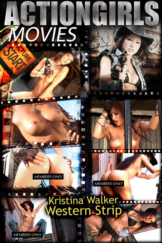 Kristina Walker - `Western rip` - for ACTIONGIRLS HEROES