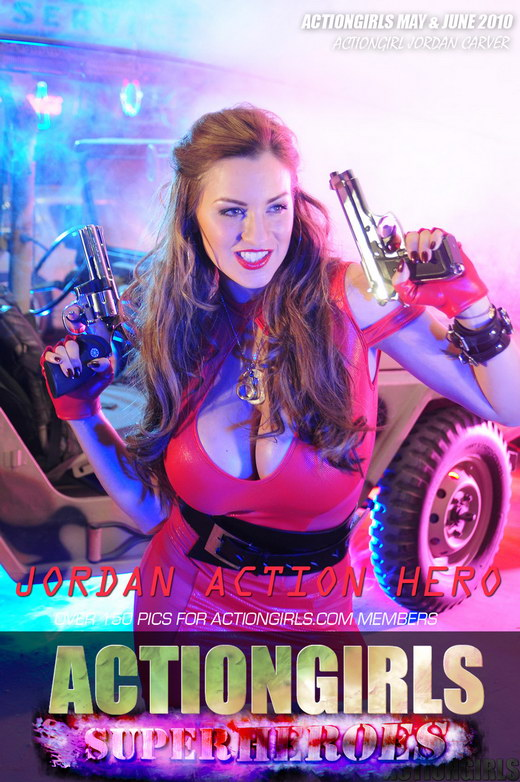 Jordan - `Red` - for ACTIONGIRLS HEROES