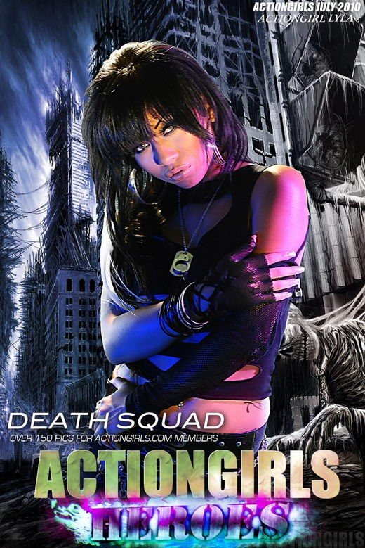 Lyla - `Death Squad` - for ACTIONGIRLS HEROES