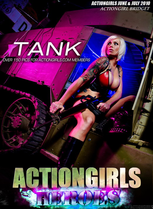 `Bridget Tank` - for ACTIONGIRLS HEROES
