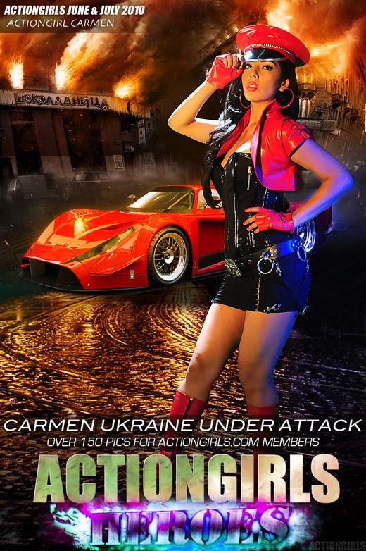 Carmen - `Ukraine Under Attack` - for ACTIONGIRLS HEROES