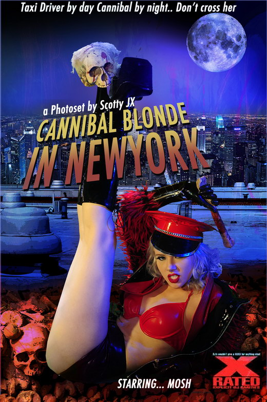 Mosh - `Cannibal Blonde In New York` - for ACTIONGIRLS HEROES