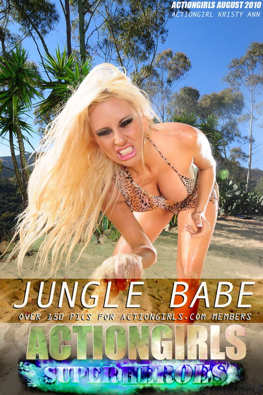 Kristy Ann - `Jungle Babe` - for ACTIONGIRLS HEROES