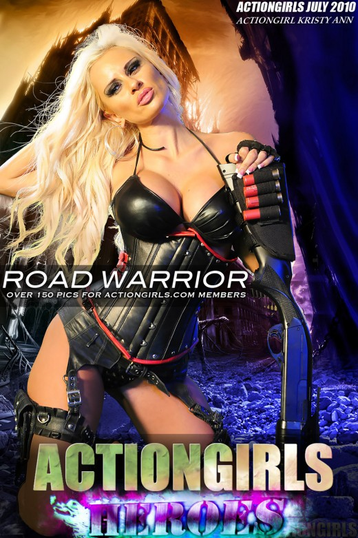 Kristy Ann - `Road Warrior` - for ACTIONGIRLS HEROES