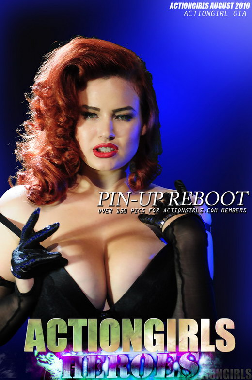 Gia - `Pin Up Reboot` - for ACTIONGIRLS HEROES