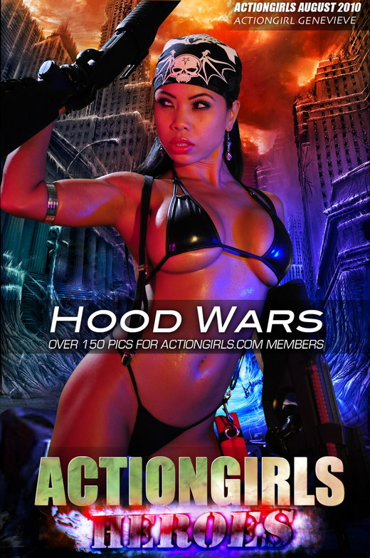 Genevieve - `Hood Wars` - for ACTIONGIRLS HEROES