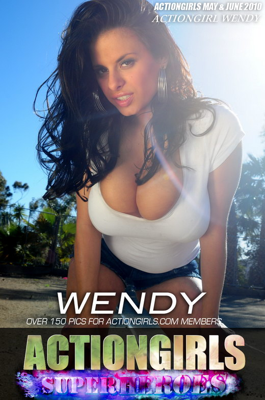 Wendy - `White` - for ACTIONGIRLS HEROES
