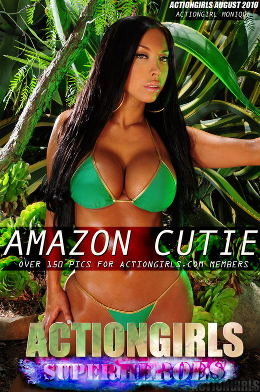 Monique - `Amazon Cutie` - for ACTIONGIRLS HEROES