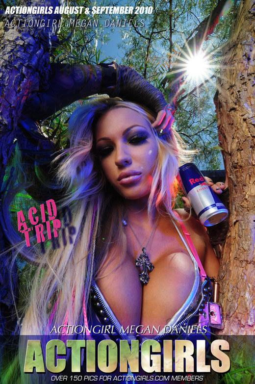Megan - `Acid Trip` - for ACTIONGIRLS HEROES