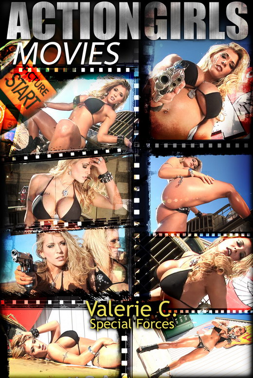 Valerie C - `Special Forces` - for ACTIONGIRLS HEROES