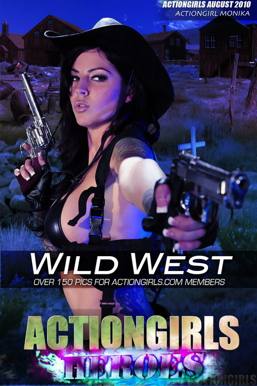 Monika - `Wild West` - for ACTIONGIRLS HEROES