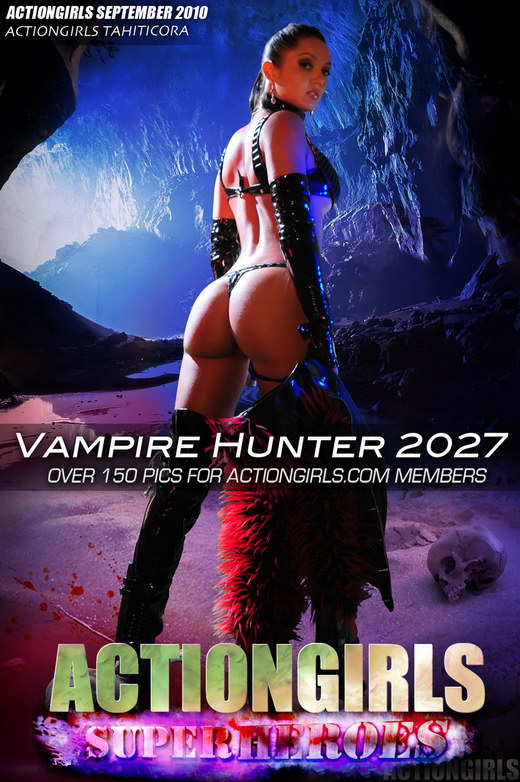 Tahiticora - `Vampire Hunter 2027` - for ACTIONGIRLS HEROES