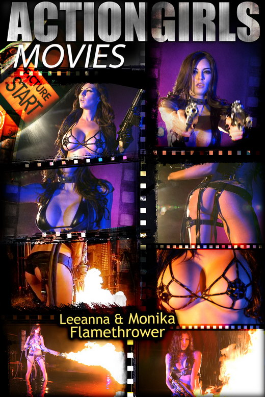 Leeanna & Monika - `Flamethrower` - for ACTIONGIRLS HEROES